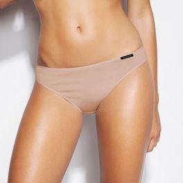 2-PACK, figi damskie bikini z bawełny blp-581-beŻowy Atlantic Atlantic
