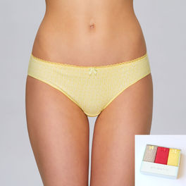 <b>3-PACK</b>, figi bikini <br> mix kolorów, 3LP-150 Atlantic