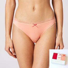 <b>3-PACK</b>, figi mini bikini <br> mix kolorów, 3LP-125 - Atlantic Atlantic