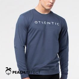 bluza piżamowa <br> granatowy, NMT-032 - Atlantic Atlantic