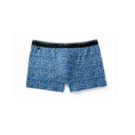 szorty męskie bawełniane mh-968-niebieski Atlantic