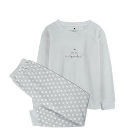 piżama komplet <br> szary jasny, NLP-457 - Atlantic