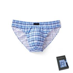 <b>2 szt.</b>, slipy męskie sport <br> niebieski jasny, MP-1365 - Atlantic