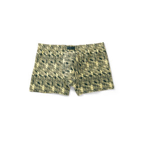 szorty męskie bawełniane mh-950-zielony jasny Atlantic