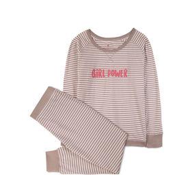piżama komplet <br> ecru, NLP-453