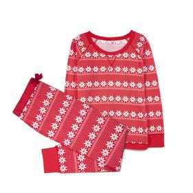 piżama komplet, nadruk <br> czerwony, NLP-459 - Atlantic