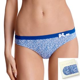 <b>2 szt.</b> figi damskie bikini <br> szary, LP-2666 - Atlantic