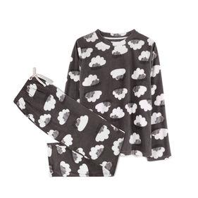 piżama z micro polaru nlp-458-grafitowy Atlantic